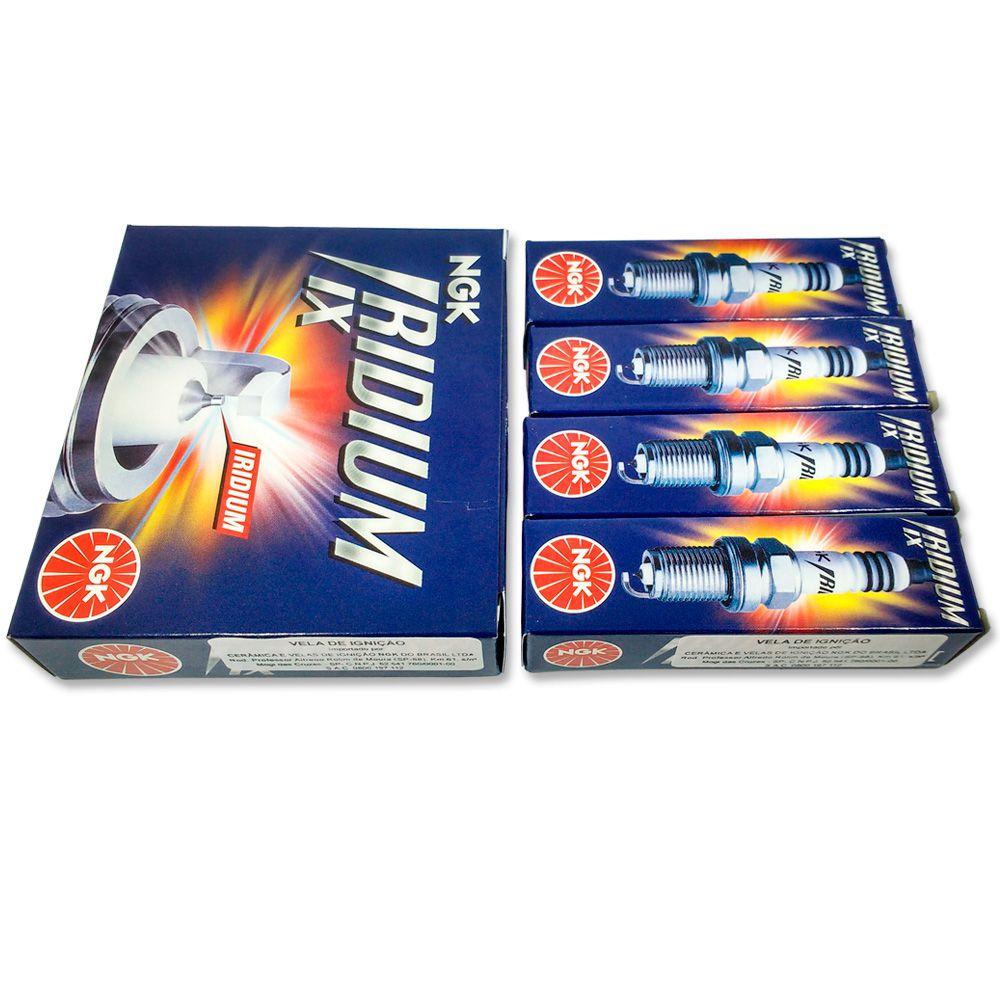 Velas Iridium XJ6 Todas + Filtro Ar K&n K N + Kit Limpeza