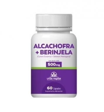 ALCACHOFRA COMPOSTA 60 CAPS 500MG - UNIAO VEGETAL