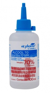 ALCOOL 70% 100 ML - VIC PHARMA