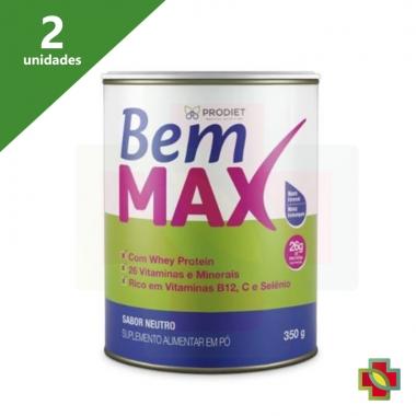 BEM MAX LATA 350G (KIT C/02 UNDS) - PRODIET