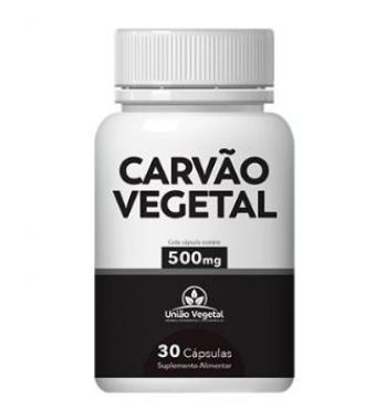 CARVÃO VEGETAL 60 CAPS 250MG - UNIÃO VEGETAL