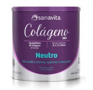 COLÁGENO SKIN NEUTRO 300G - SANAVITA