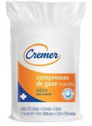 COMPRESSA DE GAZE 7,5 X 7,5CM 11F NIDIA C/500 - CREMER