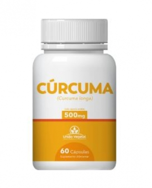 CÚRCUMA 60 CAPS 500MG - UNIAO VEGETAL