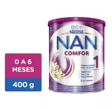 FÓRMULA INFANTIL NAN COMFOR 1 LATA 400G - NESTLÉ