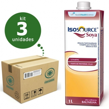 ISOSOURCE SOYA 1.2KCAL/ML 1L (CX C/03) - NESTLÉ