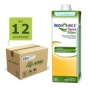ISOSOURCE SOYA FIBER 1.2KCAL/ML 1L (KIT COM 12 UNDS) - NESTLÉ