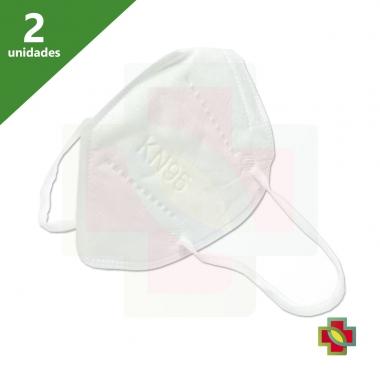 MÁSCARA DE PROTECAO PFF2 N95 KN95 (KIT 02 UNDS) - MASK