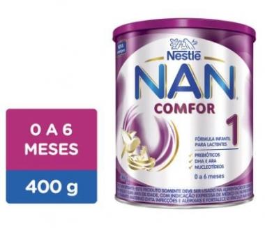 NAN COMFOR 1 400G (CX C/04 UNDS) - NESTLÉ