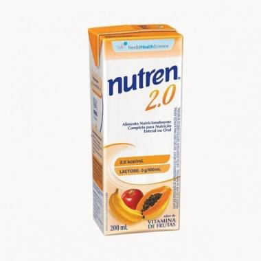 NUTREN 2.0 VITAMINA DE FRUTAS 200ML - NESTLÉ
