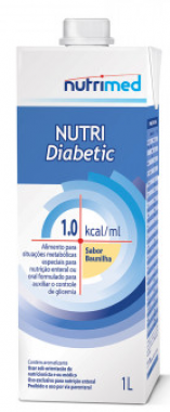 NUTRI DIABETIC 1.0 1000ML - NUTRIMED