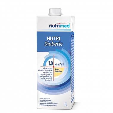 NUTRI DIABETIC 1.0 KCAL/ML 1L - NUTRIMED
