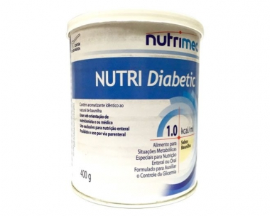 NUTRI DIABETIC 1.0 KCAL/ML 400G - NUTRIMED