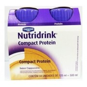 NUTRIDRINK COMPACT PROTEIN CAPUC (4XPB125ML) - DANONE ENTERAL