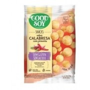 SNACKS CALABRESA LIGHT GOOD SOY 25G
