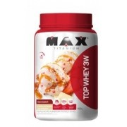 TOP WHEY 3W CHOCOLATE BRANCO C/ MORANG 900G - MAX TITANIUM