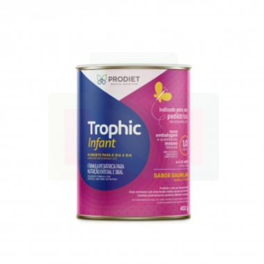 TROPHIC INFANT BAUNILHA 400G - PRODIET