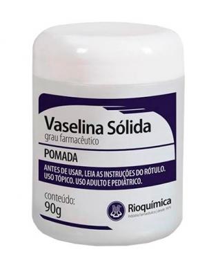 VASELINA SOLIDA 90GR - RIO QUIMICA