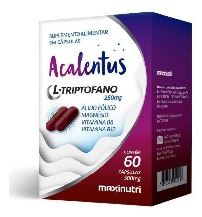 ACALENTUS 250MG 60CAPS - MAXINUTRI