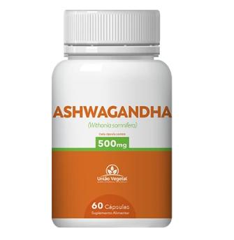 ASHWAGANDHA 500MG 60CAPS - UNIAO VEGETAL