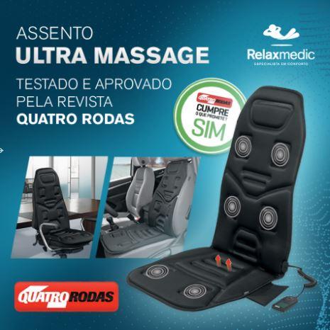 ASSENTO MASSAGEADOR ULTRA BIVOLT RM-AM2206A - RELAXMEDIC