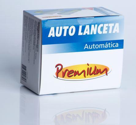 AUTO LANCETA AUTOMÁTICA 21G (C/100) LANA100 - PREMIUM