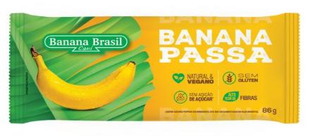 BANANA PASSA BRASIL 86G - EXP