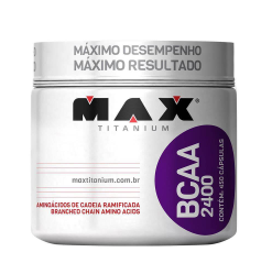 BCAA 2400MG 450 CAPS - MAX TITANIUM