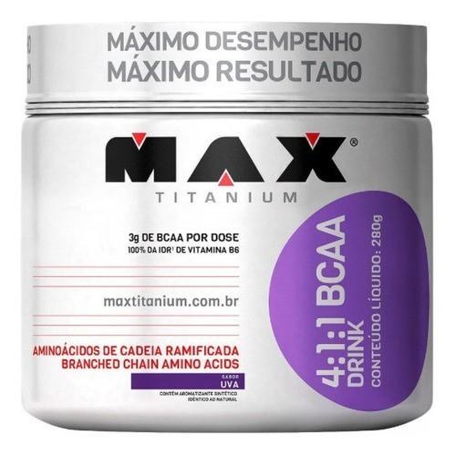 BCAA DRINK 4:1:1 280G UVA - MAX TITANIUM