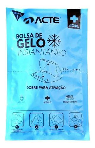 BOLSA DE GELO INSTANTÂNEO AZUL R1 (UND) - ACTE