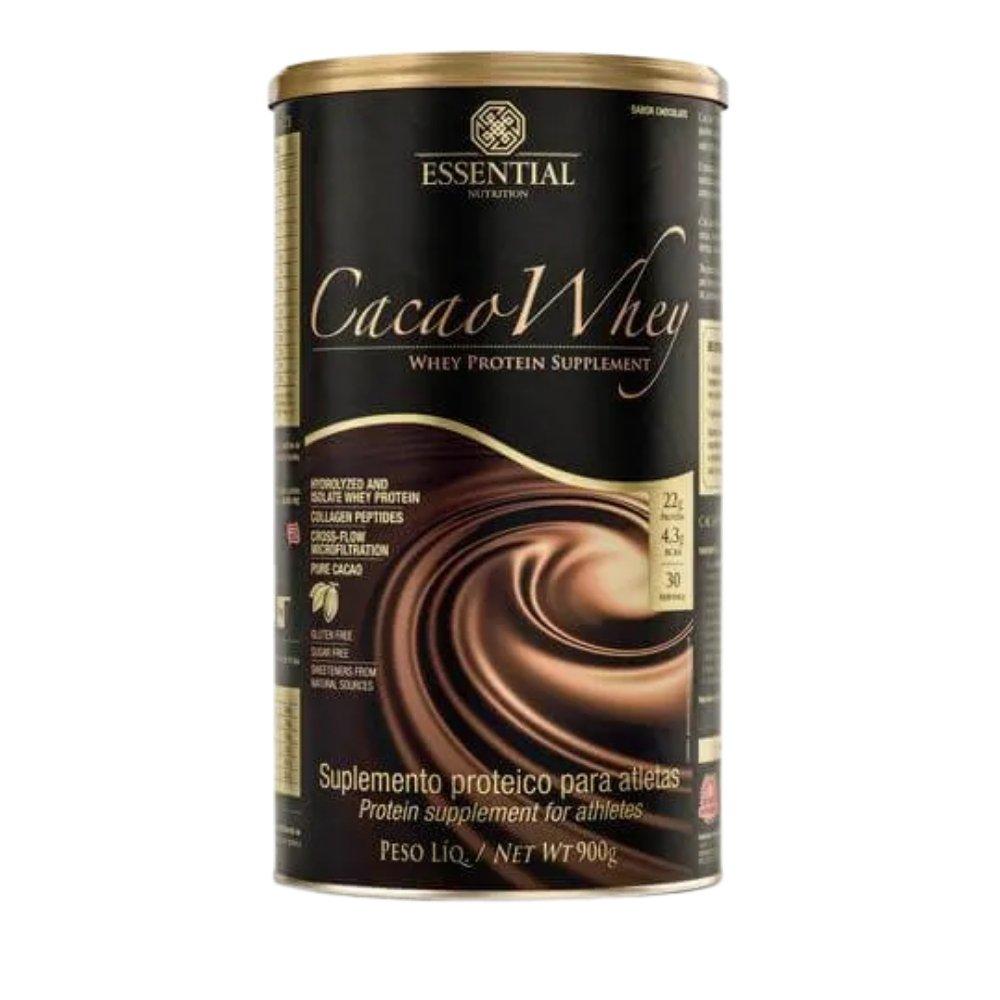 CACAO WHEY 900G - ESSENTIAL NUTRITION