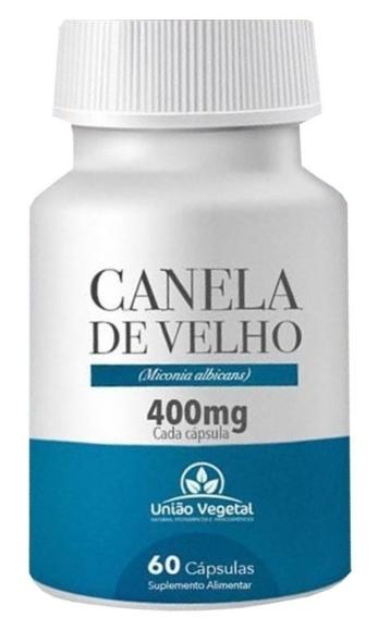 CANELA DE VELHO 60 CAPS 400MG - UNIAO VEGETAL