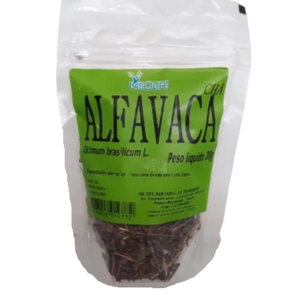 CHÁ ALFAVACA 30G - LAB.AMAZONAS