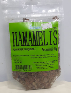 CHA HAMAMELIS 30G - LAB.AMAZONAS