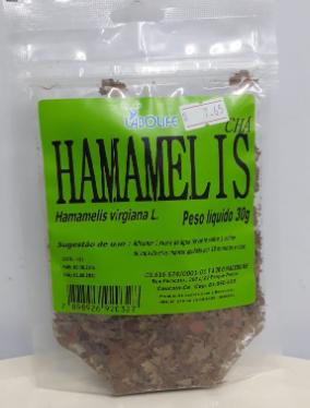 CHÁ HAMAMELIS 30G - LAB.AMAZONAS