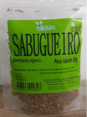 CHA SABUGUEIRO 30G - LAB.AMAZONAS