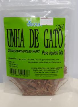 CHÁ UNHA DE GATO 30G - LAB.AMAZONAS