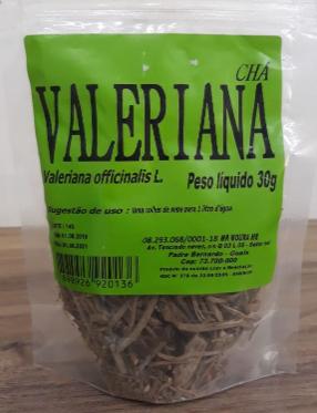CHÁ VALERIANA 30G - LAB.AMAZONAS