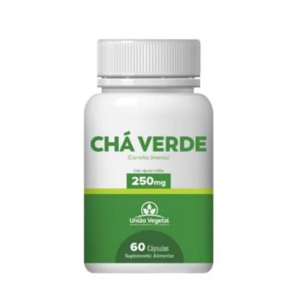 CHA VERDE 60 CAPS 250MG - UNIAO VEGETAL