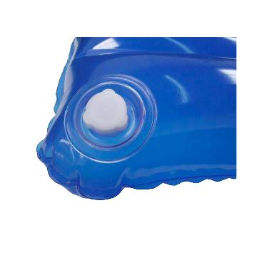 COLCHÃO CAIXA DE OVO INFLÁVEL COM ORIFICIO TAM 1,90 X 0,90 M - A.G PLASTIC