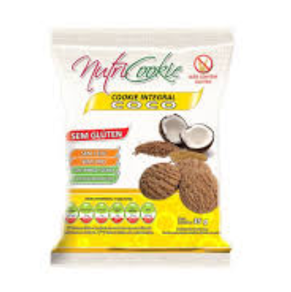 COOKIES S/GLUTEN COCO 120G - NUTRI COOKIE