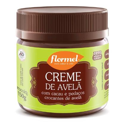 CREME DE AVELA COM CACAU CROCANTE 150G - FLORMEL