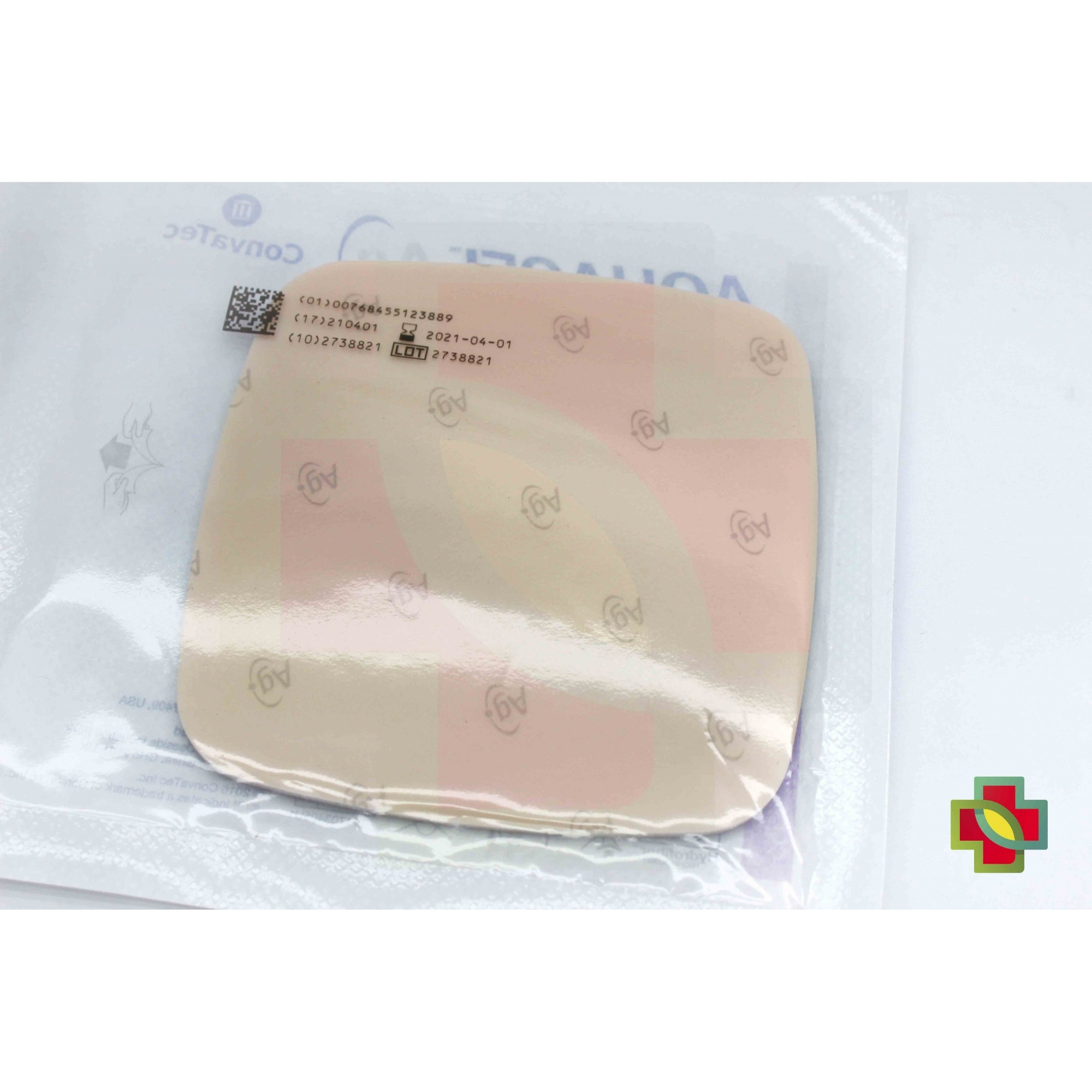 CURATIVO AQUACEL AG FOAM SEM ADESIVO 10 X 10 UND. 420642 CONVATEC