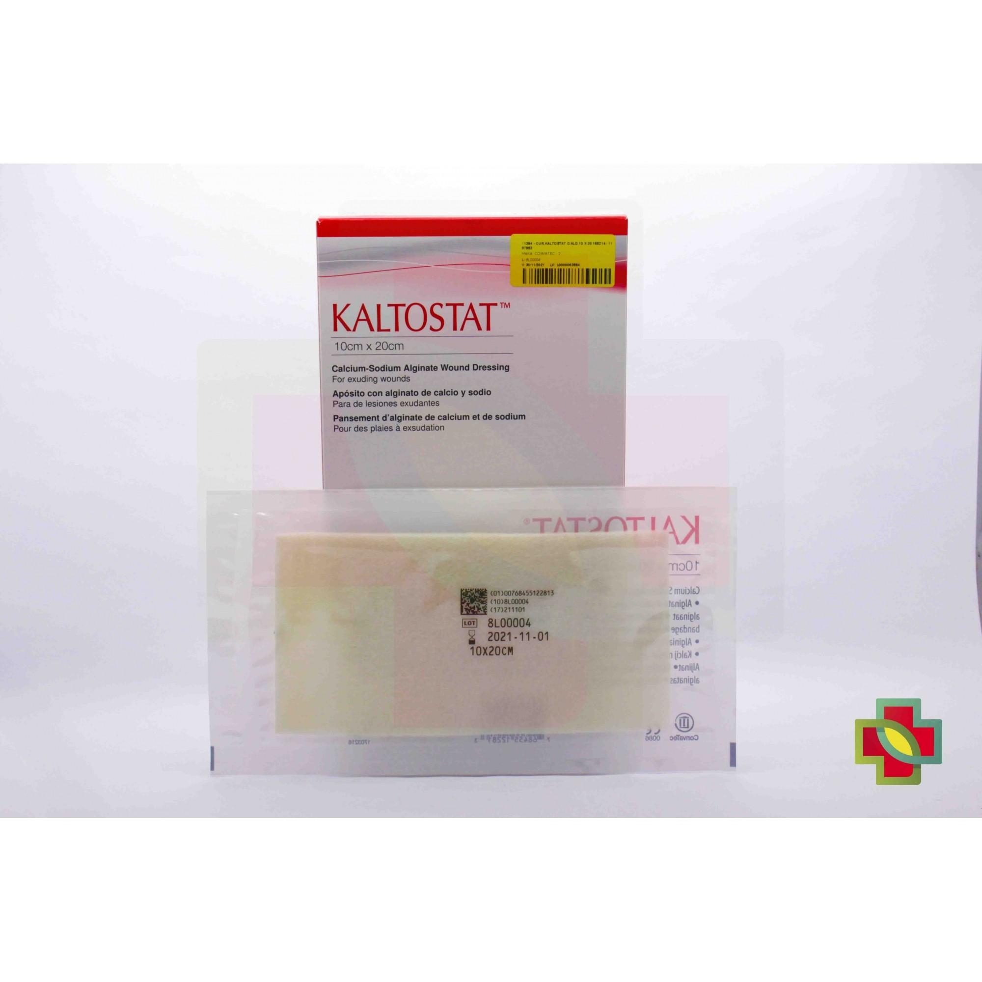 CURATIVO KALTOSTAT 10 X 20 CM (C/10 UNDS) 168214 - CONVATEC
