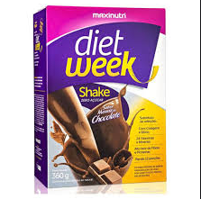 DIET WEEK SHAKE MUSSE DE CHOCOLATE 360G - MAXINUTRI