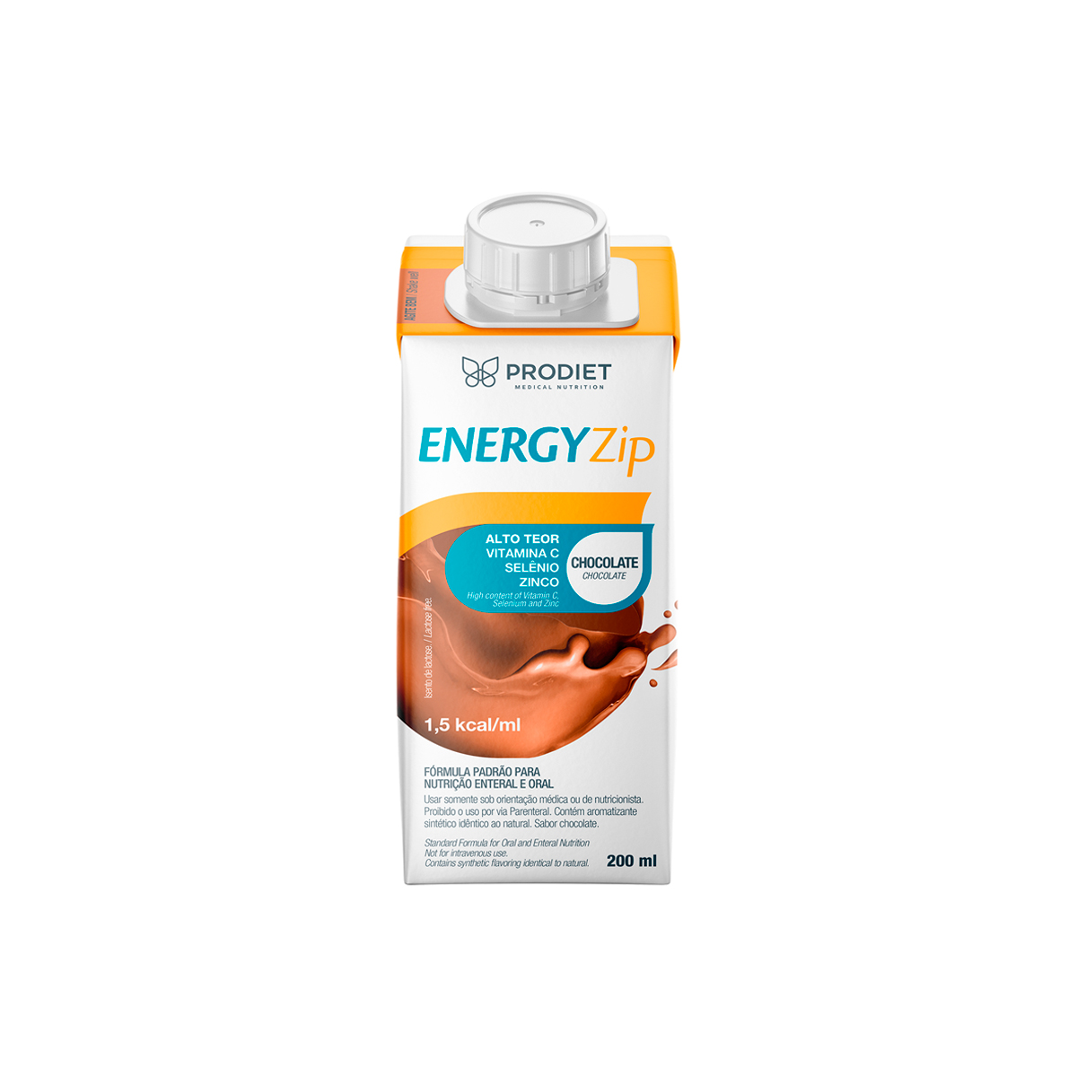 ENERGYZIP 200 ML CHOCOLATE - PRODIET
