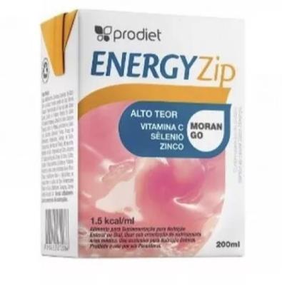 ENERGYZIP 200 ML (MORANGO) - PRODIET