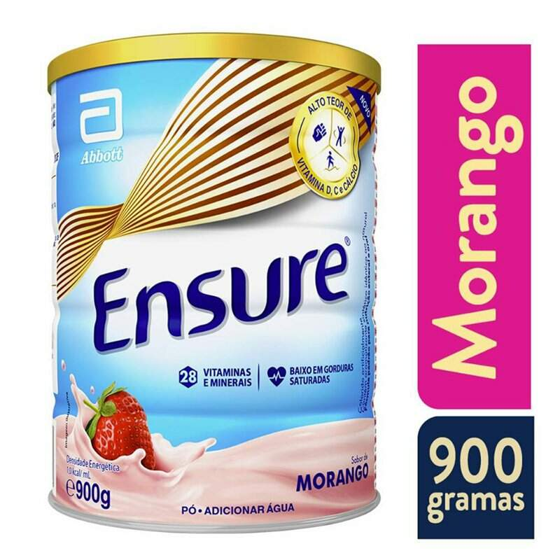 ENSURE MORANGO 900G - ABBOTT