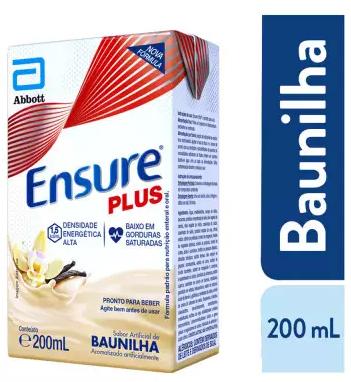 ENSURE PLUS BAUNILHA TETRAPACK 200ML ABBOT