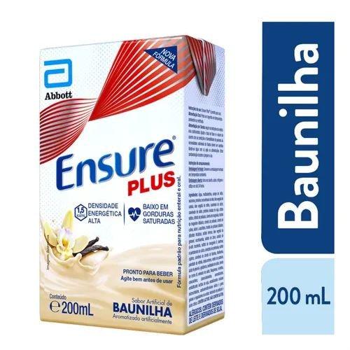 ENSURE PLUS BAUNILHA TETRAPACK 200ML - ABBOT